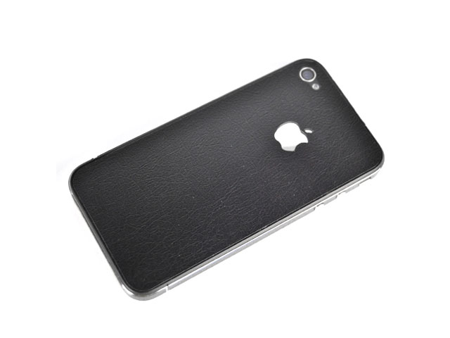 Leather Full Body Skin Guard voor iPhone 4/4S