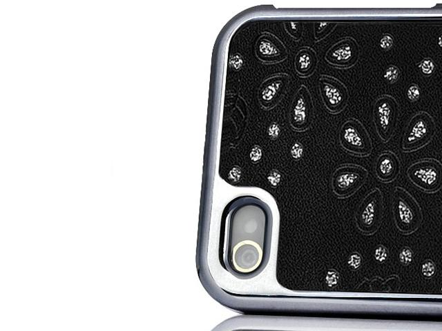 Deluxe Glitter & Glamour Hard Case Hoes voor iPhone 4/4S