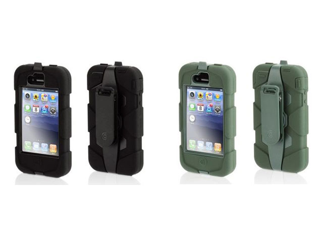 Griffin Survivor Armored Military Grade Case voor iPhone 4/4S