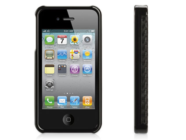 Griffin Elan Form Graphite Case Hoes voor iPhone 4/4S