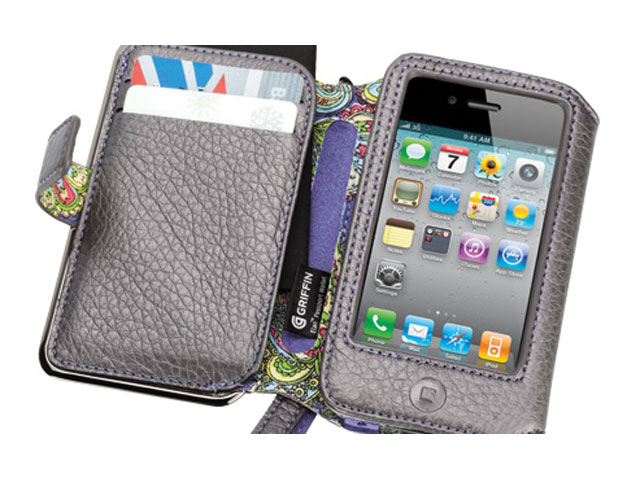 Griffin Elan Passport Platinum Leren Case iPhone 4/4S