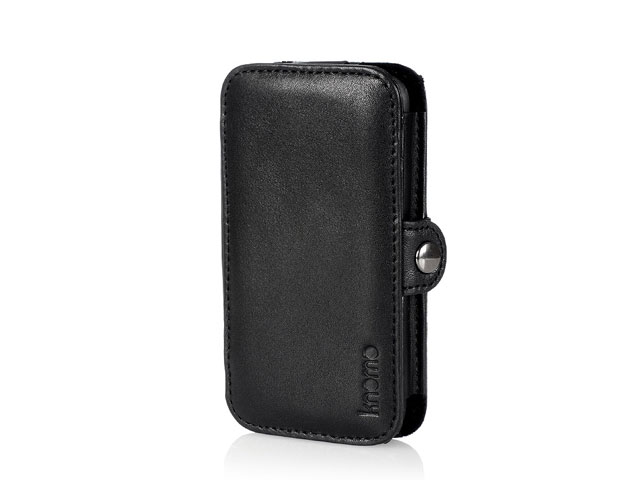 Knomo Leather Folio Case - iPhone 4/4S hoesje
