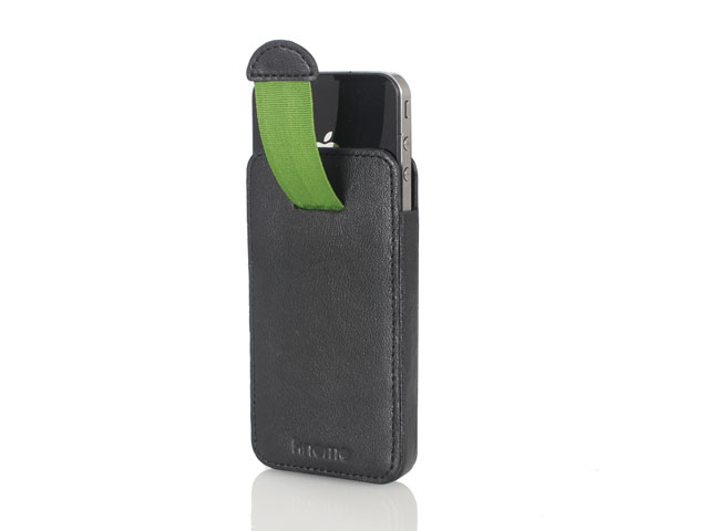Knomo Nappa Leather Sleeve voor iPhone 4/4S