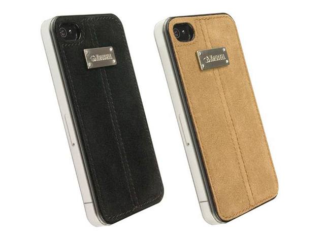 Krusell UnderCover Luna Nubuck Case Hoes iPhone 4