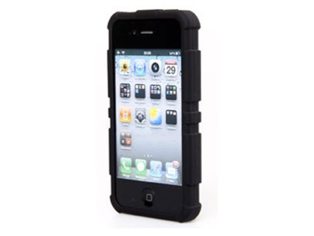 Defender Silicone Skin Case Hoesje voor iPhone 4