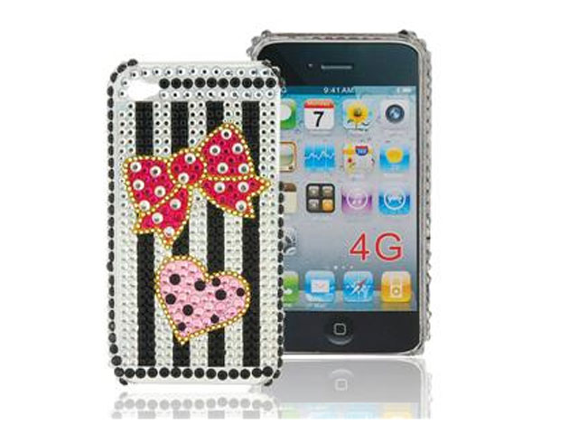 Diamond Case Hoes Fashion voor iPhone 4/4S