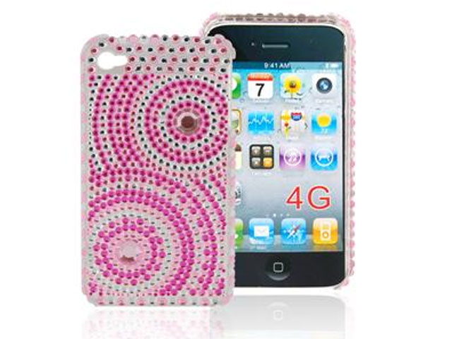 Diamond Circles Case Hoes voor iPhone 4/4S