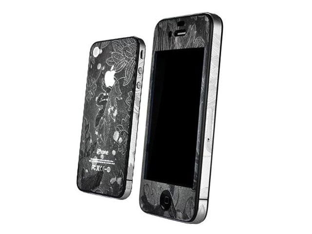 Flower Full Body Skin Guard voor iPhone 4/4S