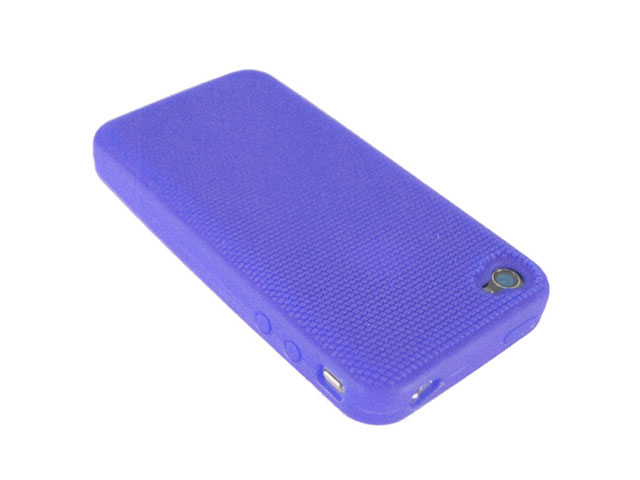 Anti-Slip Silicone Skin voor iPhone 4