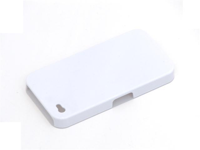 Basic White Back Case Hoes voor iPhone 4/4S