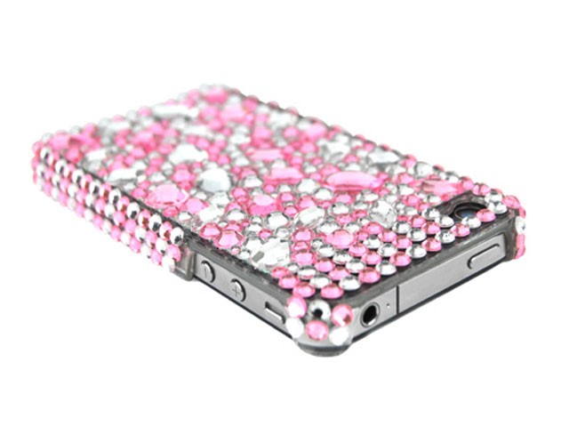 Big Shiny Diamond Back Case voor iPhone 4/4S