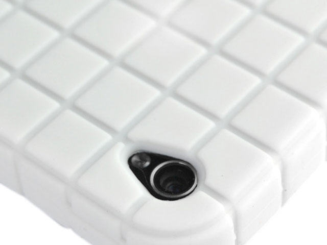 Blocks Silicone Skin voor iPhone 4/4S