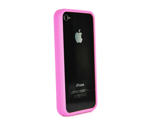 Bumper Colors Case Hoes voor iPhone 4