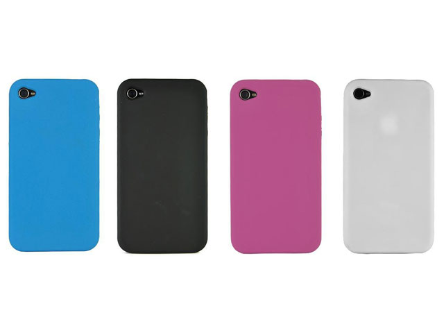 Candy Silicone Skin Hoes voor iPhone 4