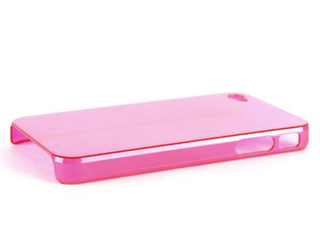 Crystal Nude Back Case Hoes voor iPhone 4