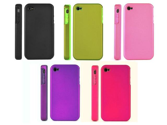 Dual-Protection Silicon Hard Case voor iPhone 4/4S