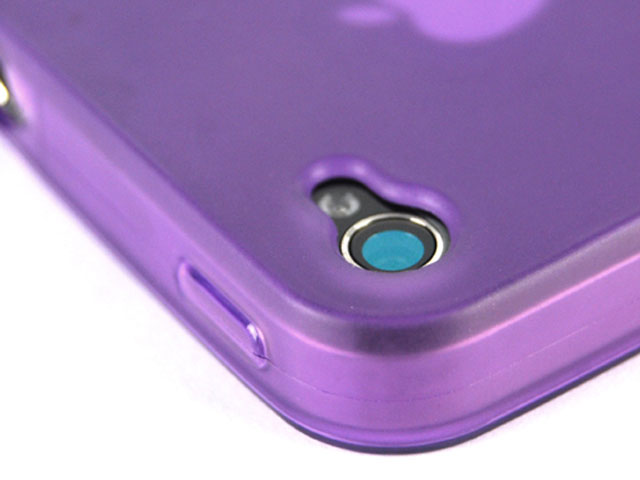 Frosted Polymer Series Hoes voor iPhone 4