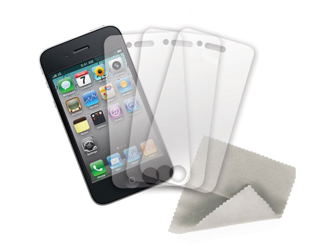 Griffin Screen Care Kit Matte (3-pack) iPhone 4/4S
