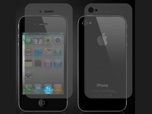 Anti-Fingerprint Bodyprotector voor iPhone 4/4S