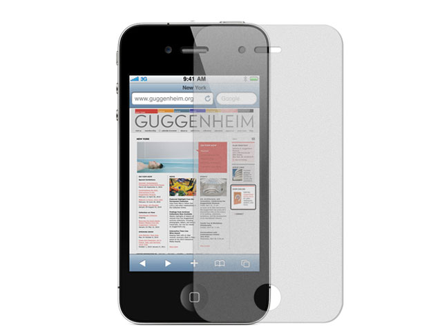 Anti-Fingerprint Screenprotector voor iPhone 4/4S