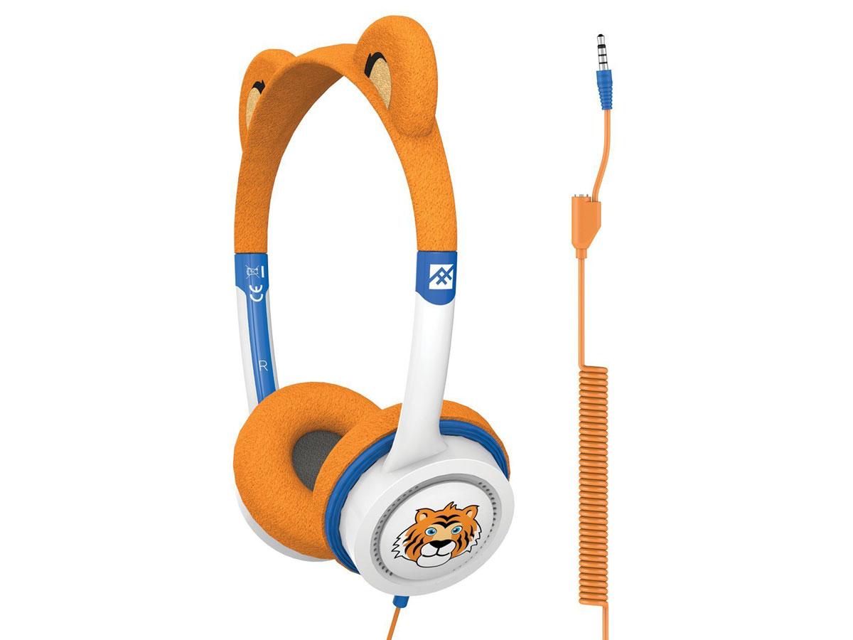 iFrogz Tiger Kinder Koptelefoon met Volumebeperking Tijger