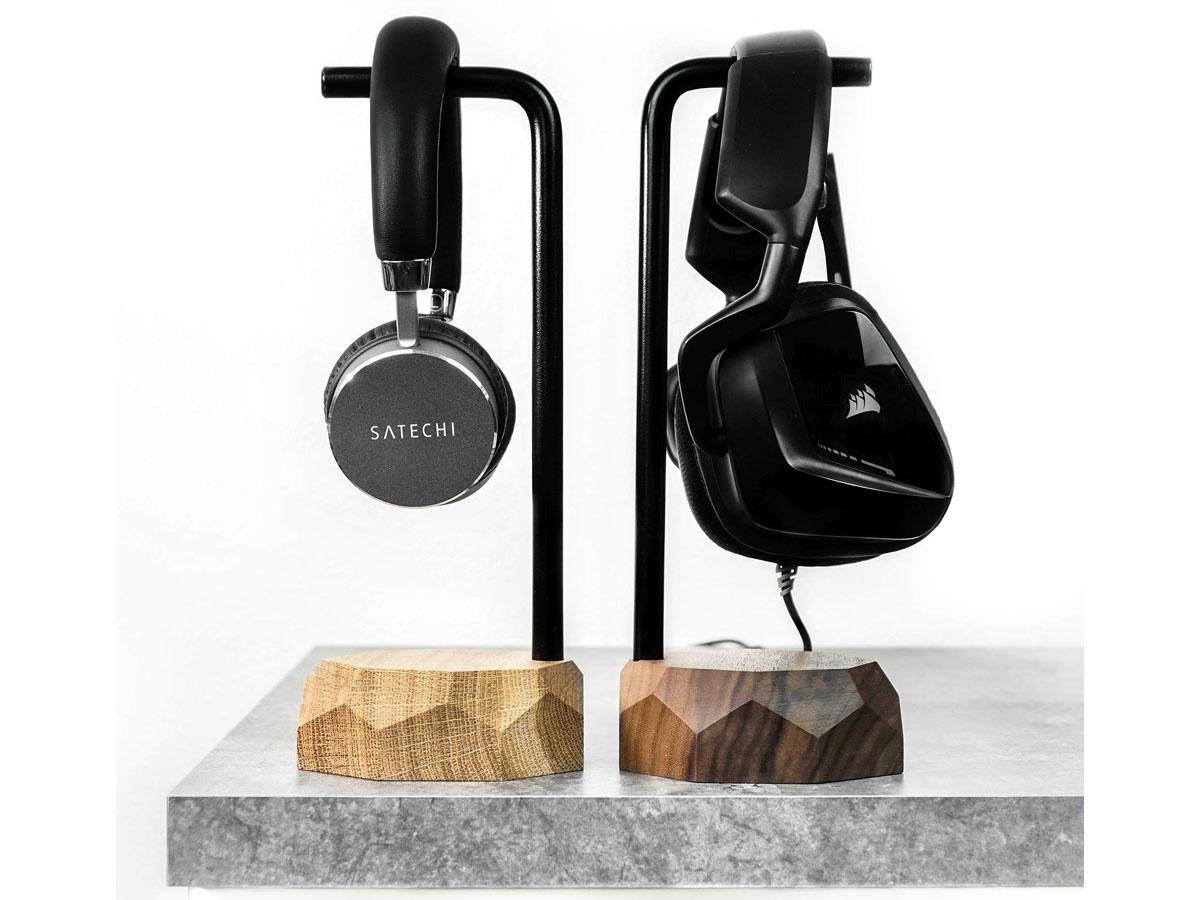 Oakywood Headphone Stand Oak - Houten Koptelefoon Standaard
