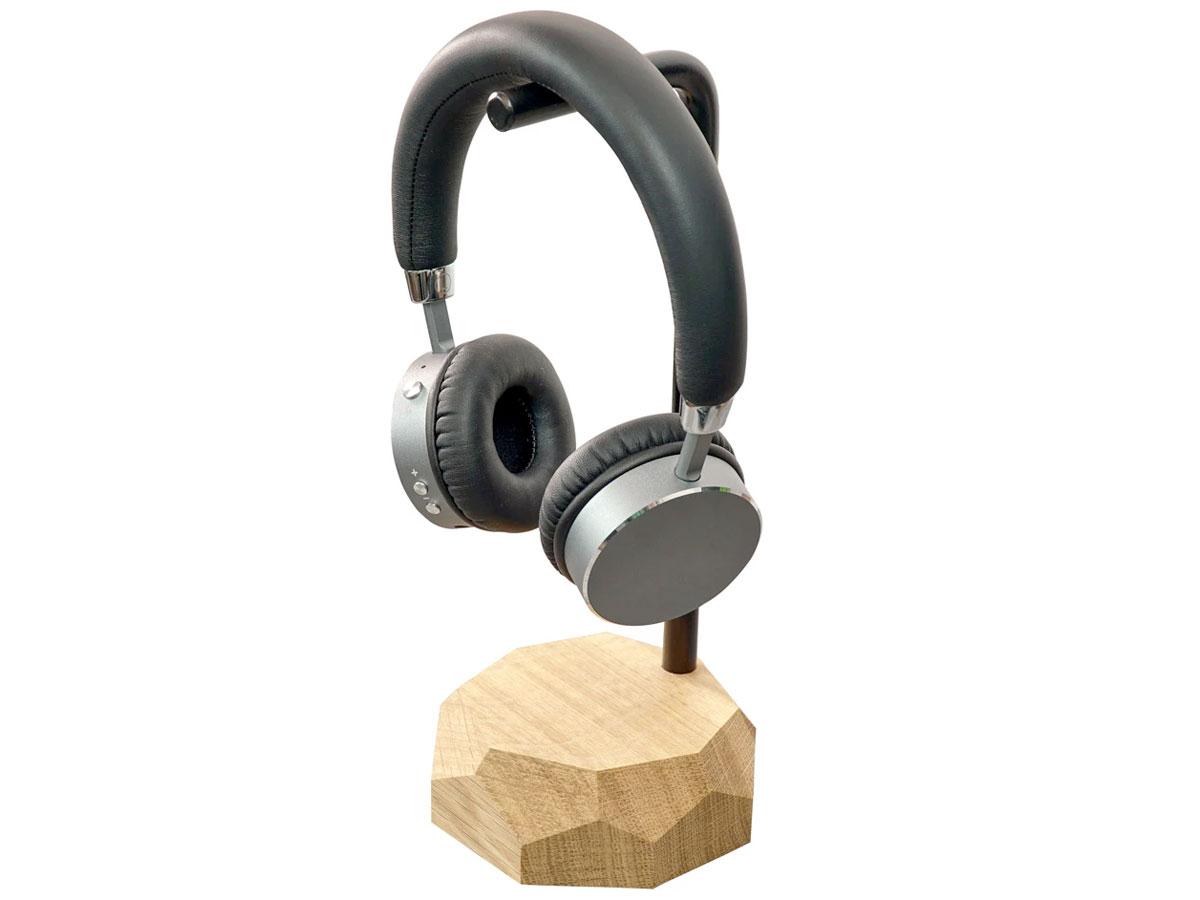 Oakywood Headphone Stand Oak - Houten Koptelefoon Standaard Eiken