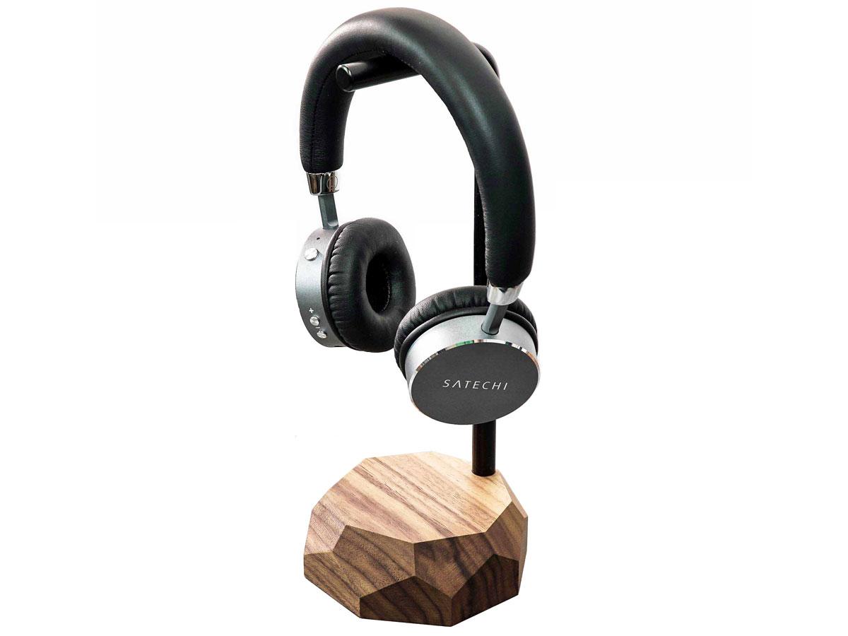 Oakywood Headphone Stand Walnut - Houten Koptelefoon Standaard Walnotenhout