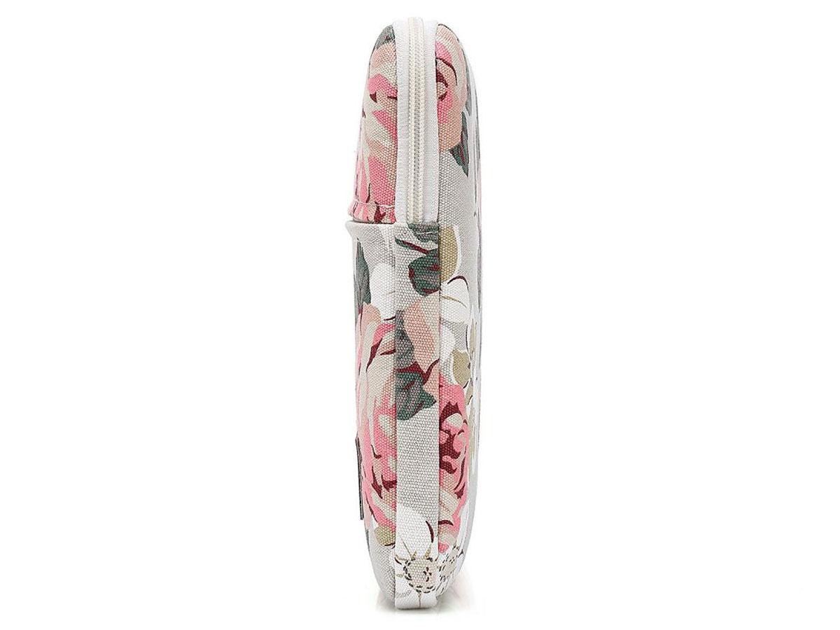 Canvaslife Floral Laptop Sleeve Grey - 15