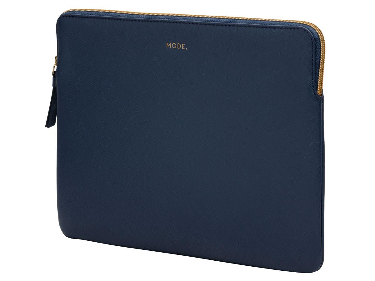 "MODE. Paris Ocean Blue - MacBook Air/Pro 13"" (USB-C) Sleeve Donkerblauw"