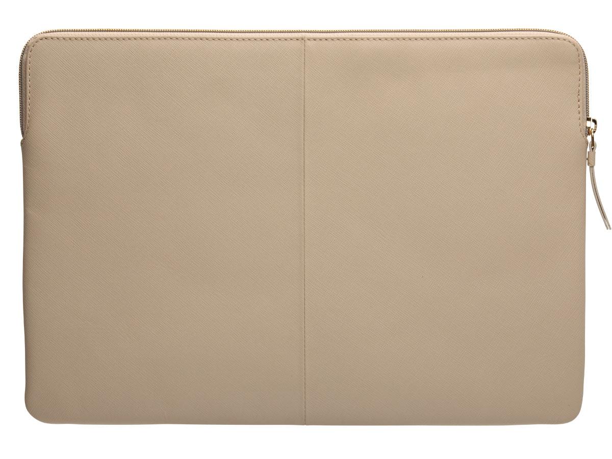 dbramante1928 MODE. Paris Sleeve Beige Leer - MacBook Pro 16
