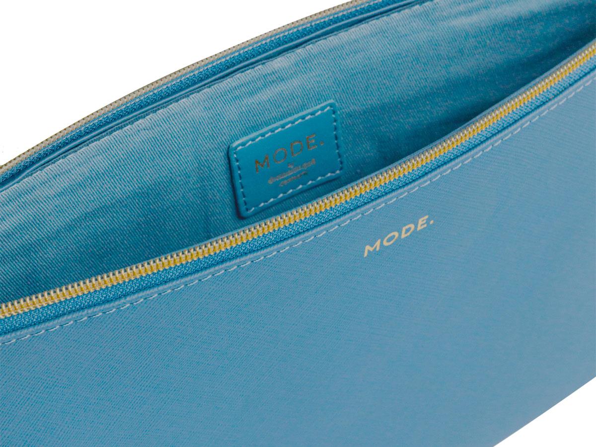 dbramante1928 MODE. Paris Sleeve Blauw Leer - MacBook Pro 16