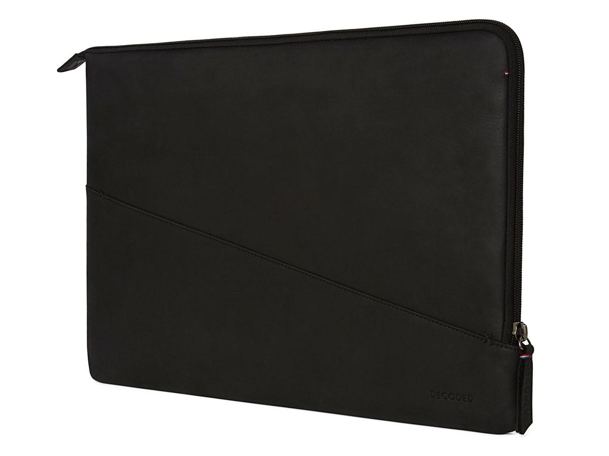 bb306fe33c8 Decoded Slim Sleeve Zwart Leer   MacBook Pro 15