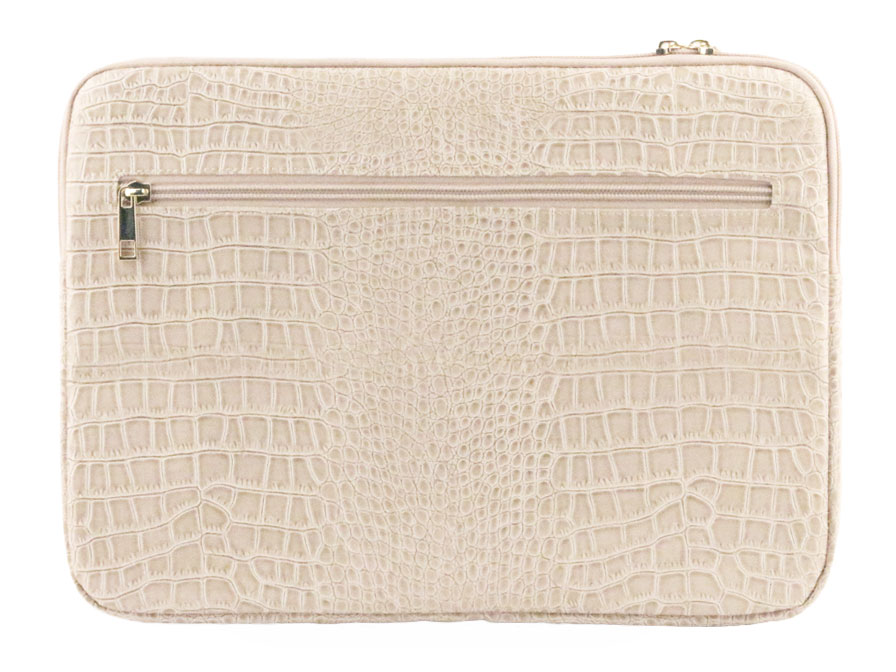 Guess Croco Laptop Sleeve - 13 inch MacBook Hoes