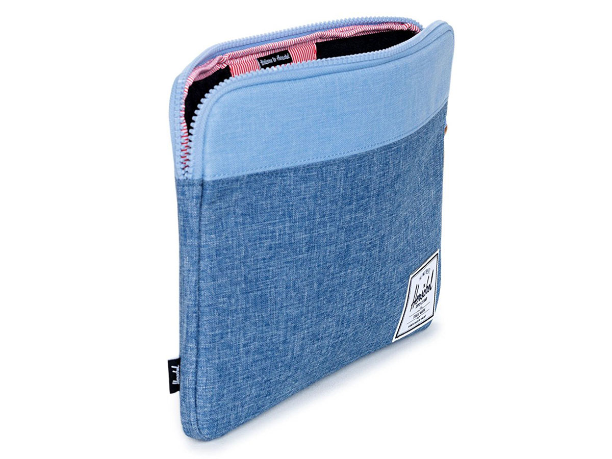 Herschel Anchor Blauw - MacBook Sleeve 13 inch