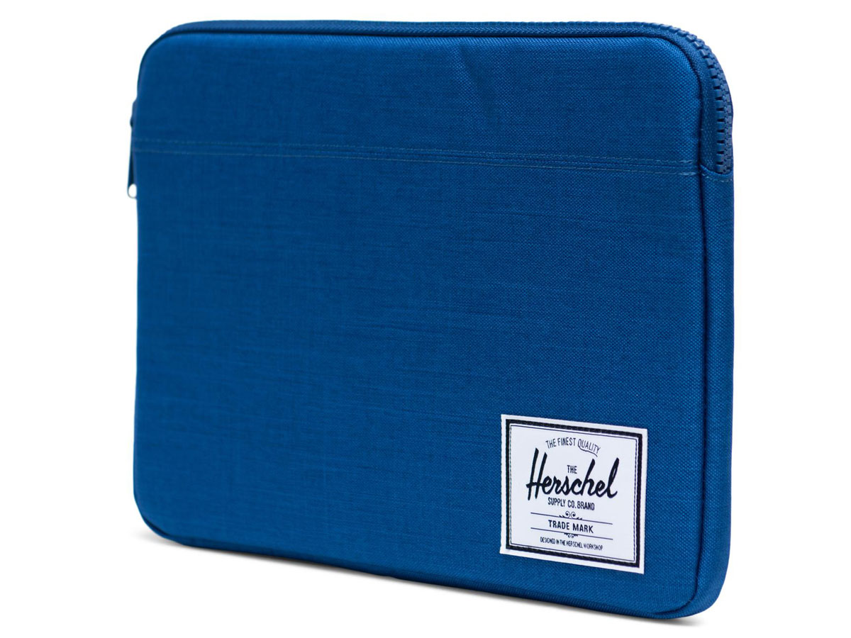 "Herschel Anchor Sleeve Monaco Blue - MacBook Air/Pro 13"" USB-C Hoes Blauw"