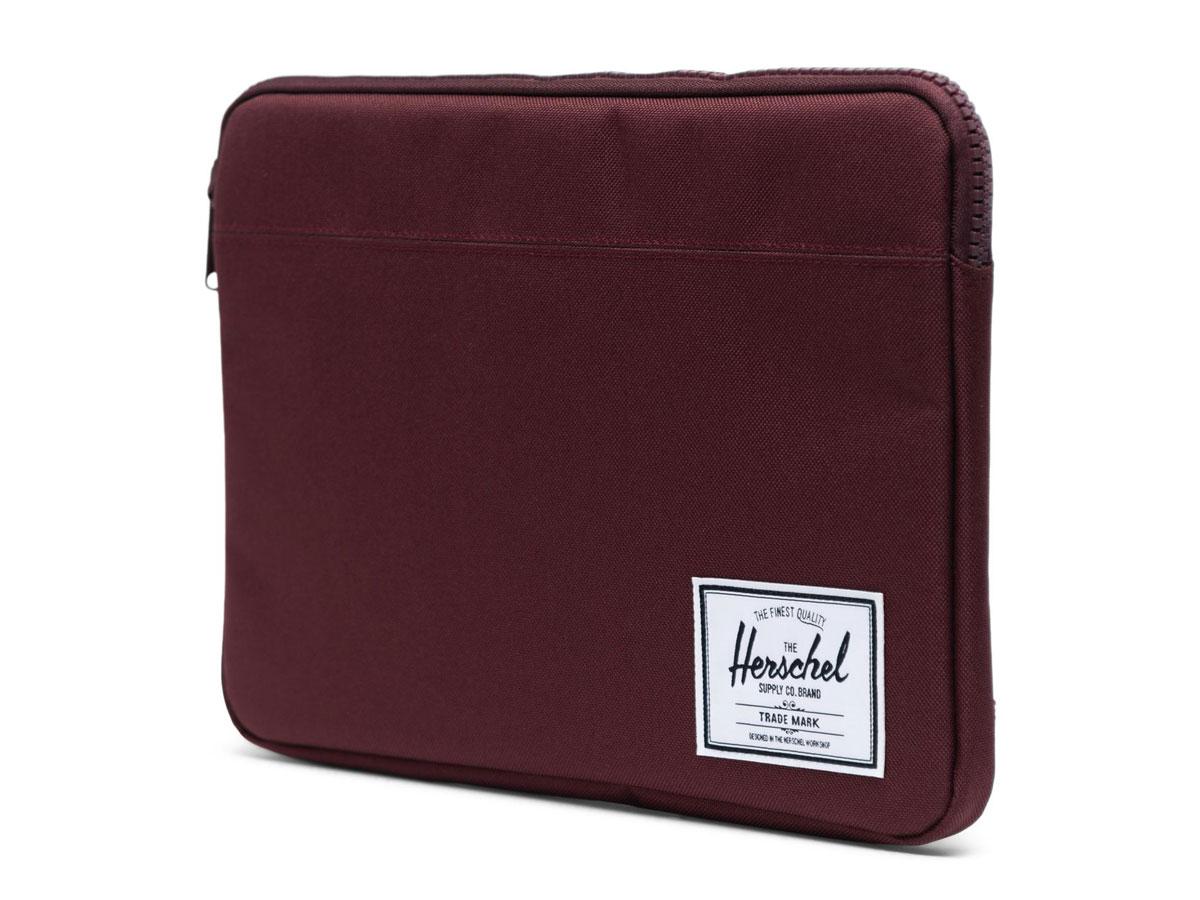 """Herschel Anchor Sleeve Plum - MacBook Air/Pro 13"""" USB-C Hoes Bordeaux"""