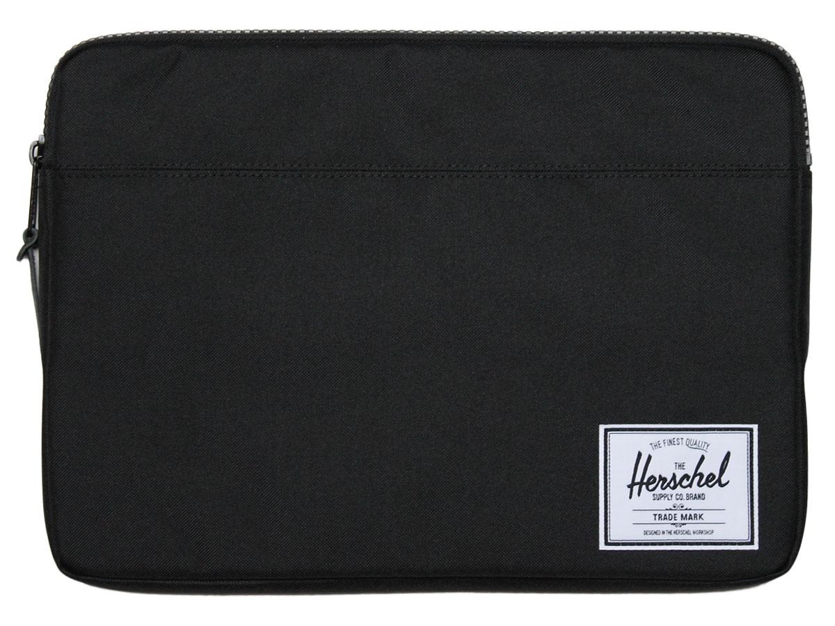 Herschel Anchor Sleeve Black - MacBook 13 inch Hoes Zwart