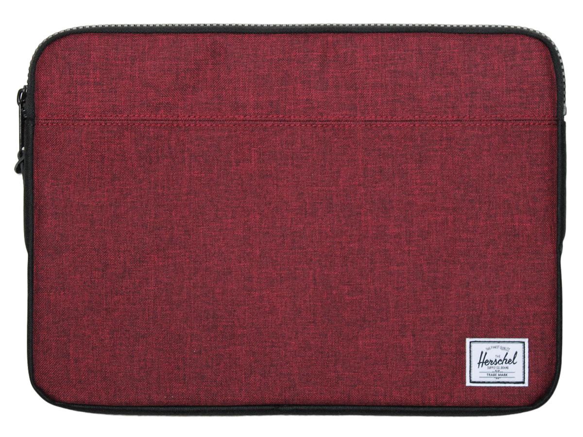 Herschel Anchor Sleeve Rood - MacBook 13 inch Hoes