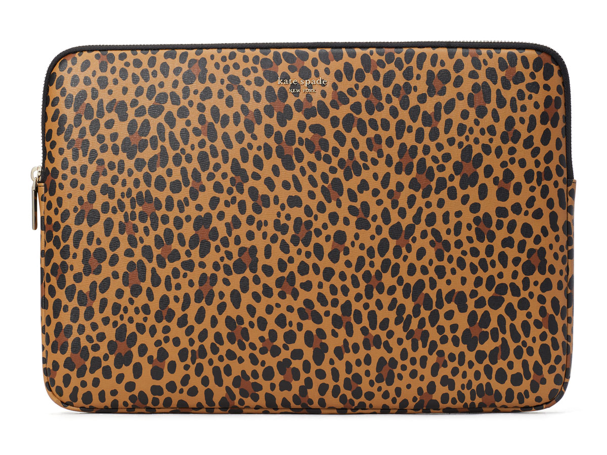 Kate Spade Leopard Universal Laptop Sleeve - 15