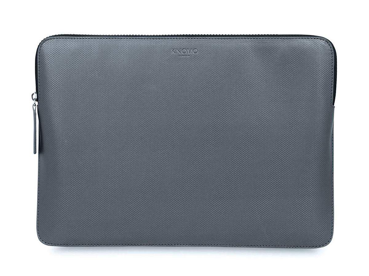 Knomo Embossed Sleeve Silver - MacBook Pro 15