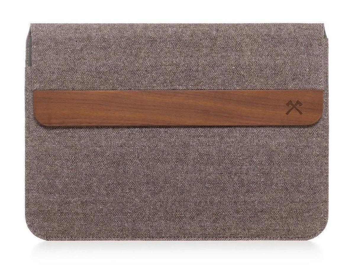 Woodcessories EcoPouch Wol & Hout - MacBook Sleeve 13