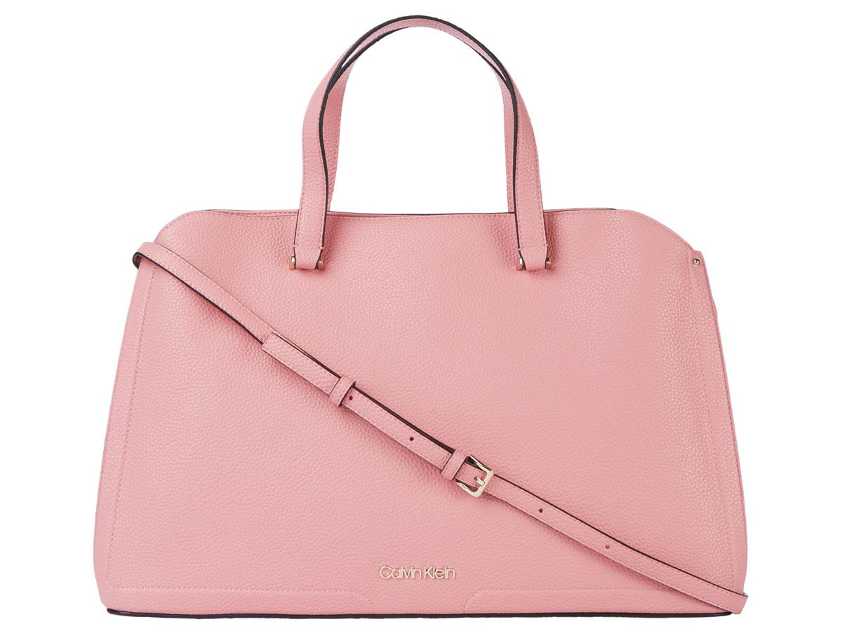 Calvin Klein Breeze Tote Laptop Bag - Laptoptas (Roze)