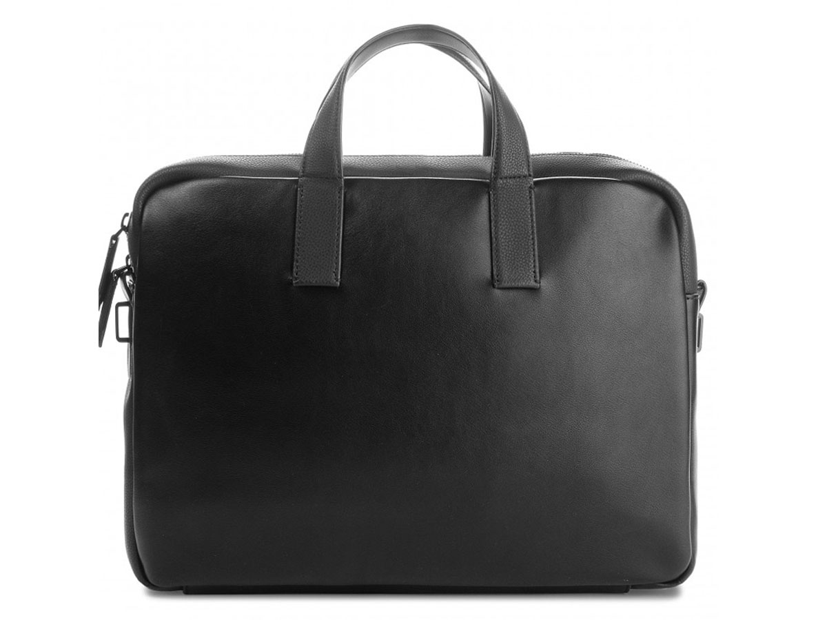 Calvin Klein Elevated Logo Laptop Bag Laptoptas Zwart