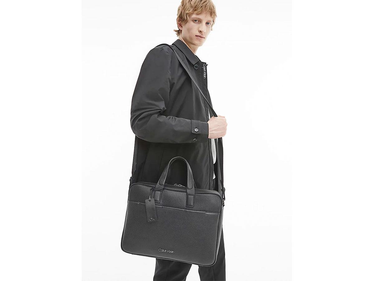 Calvin Klein Laptop Bag Recycled - Laptoptas Zwart