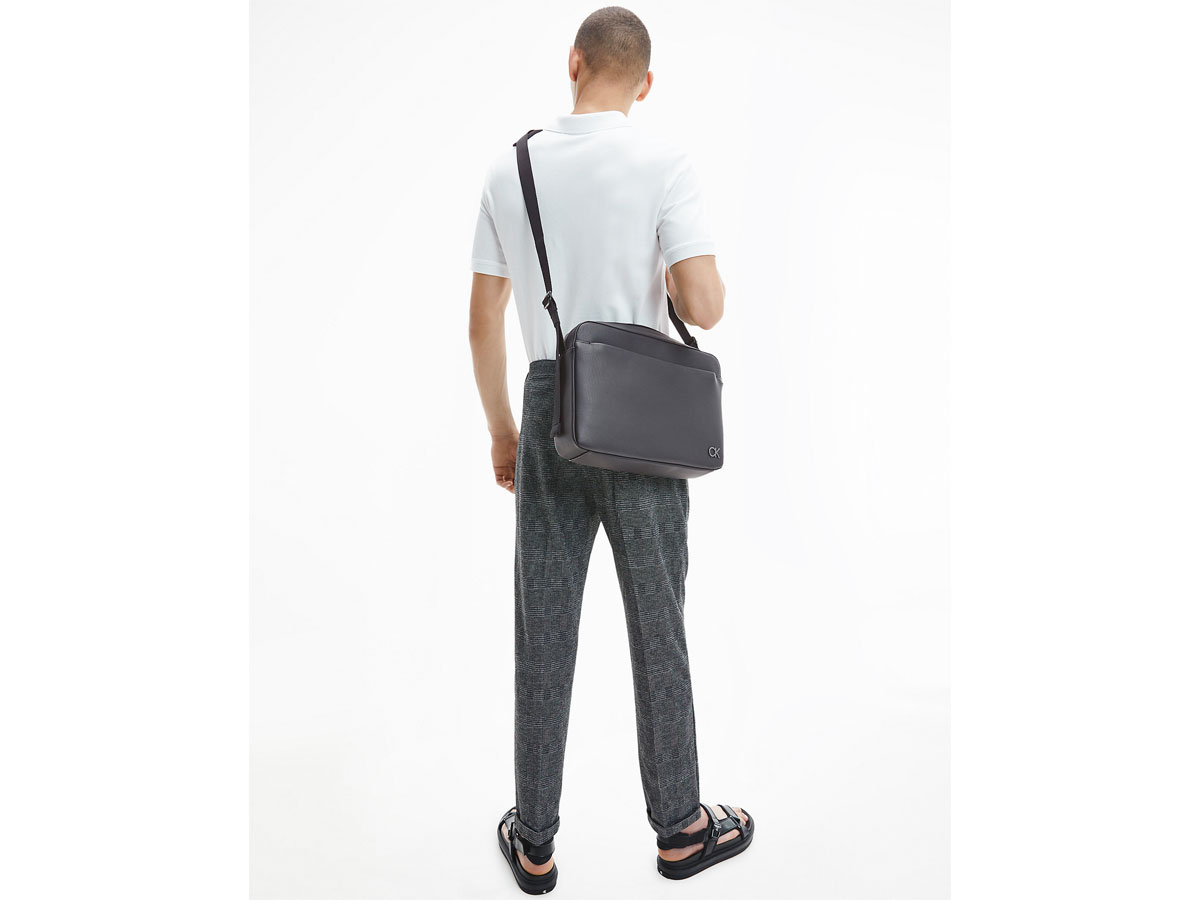 Calvin Klein Messenger Bag - Laptoptas Zwart