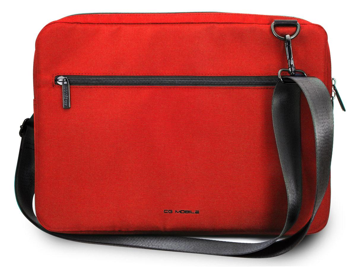 Ferrari Urban Slim Laptop Bag Rood - Laptoptas tot 13 inch