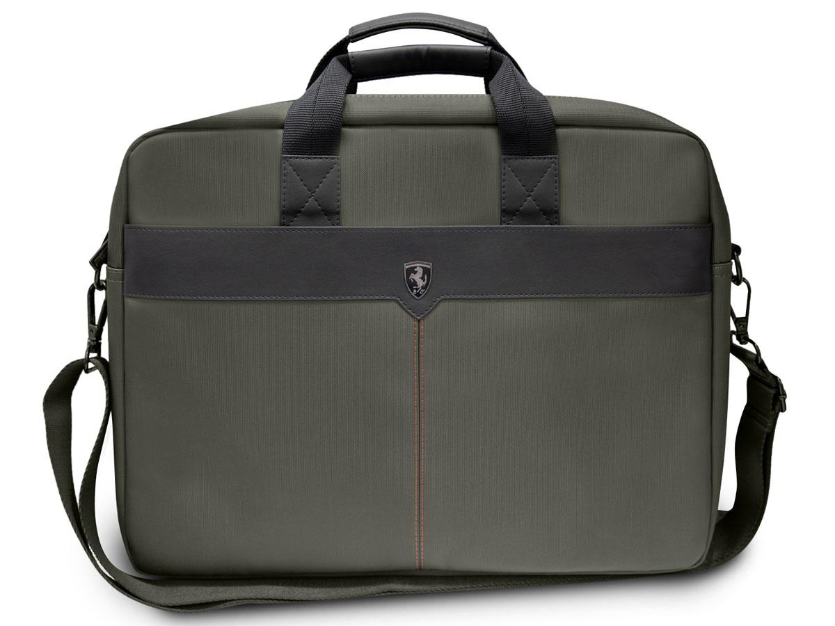 Ferrari Off Track Scuderia Laptop Bag Khaki - Laptoptas 15 inch