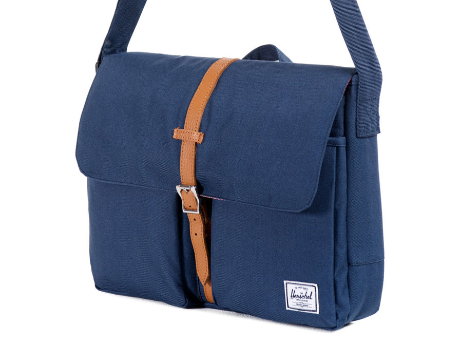 Herschel Columbia Messenger - 13 inch Laptoptas (Navy)