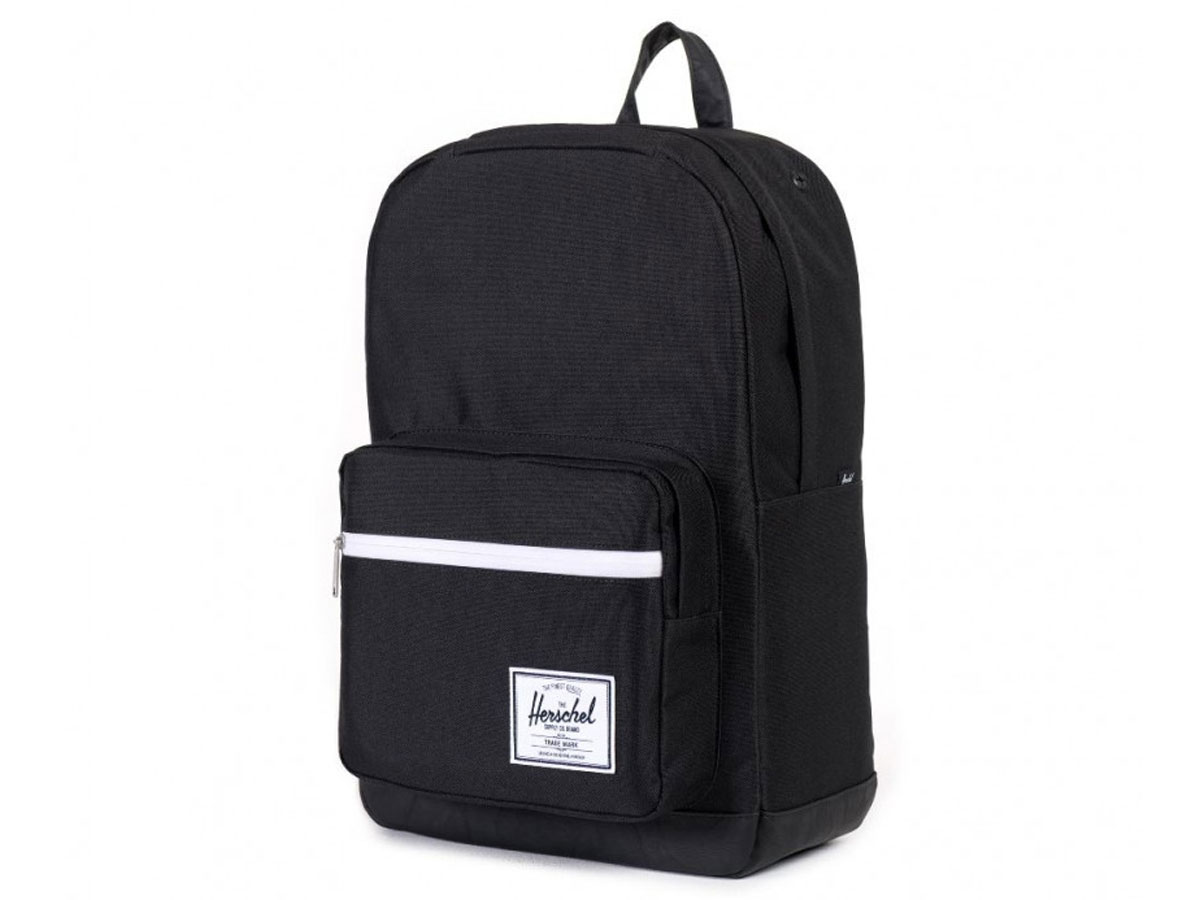 Herschel Pop Quiz BackPack Rugzak met 15 inch Laptopvak (Black/Black)